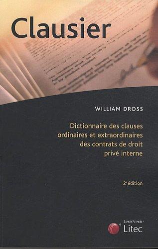Clausier - William Dross